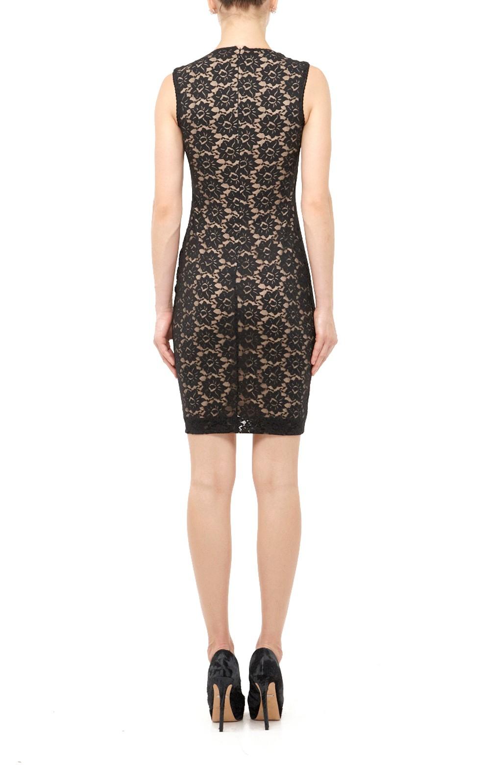 Nicole Miller Felicity Daisy Lace Dress In Black Lyst