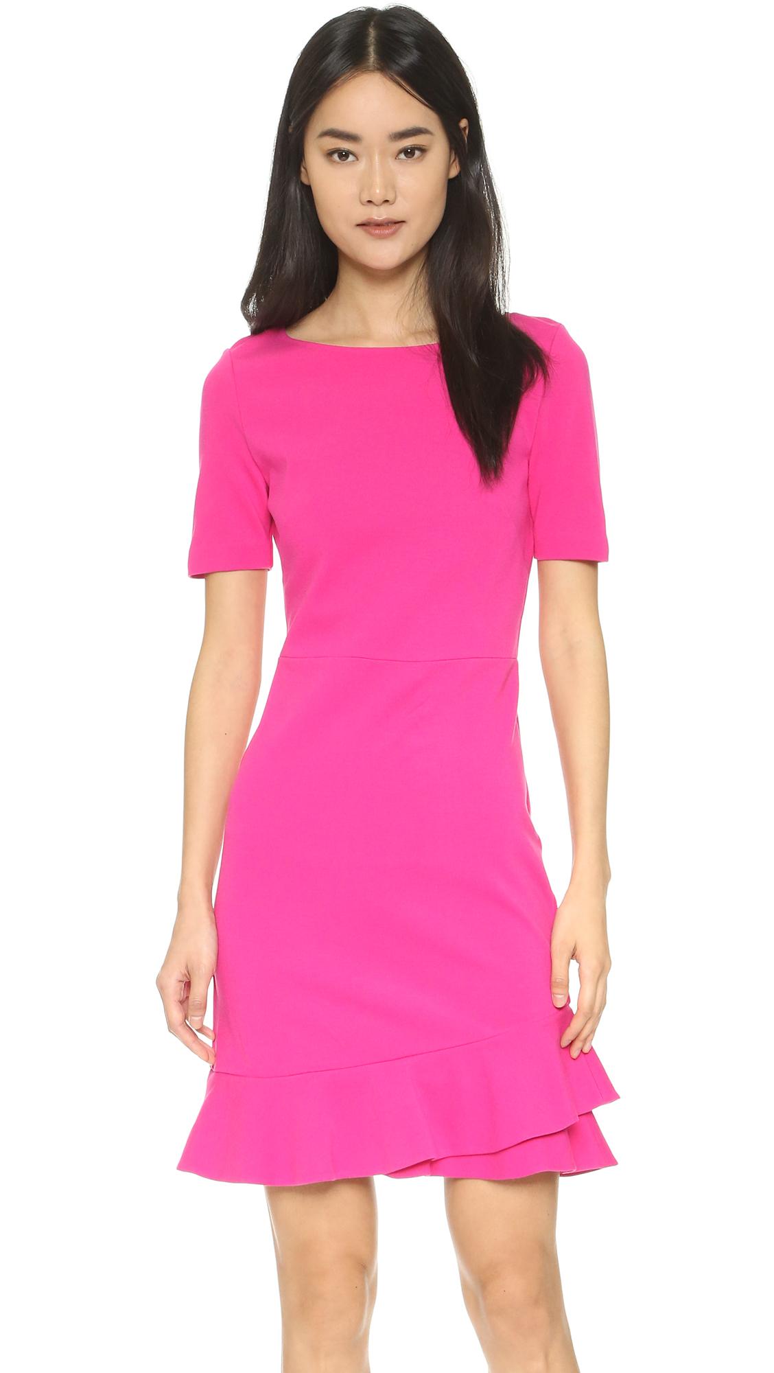 ba03fce005a Diane von Furstenberg Serafina Dress in Pink - Lyst