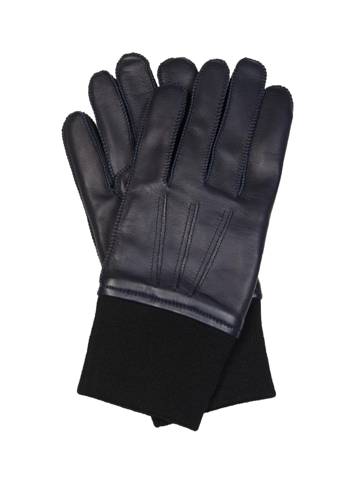 Mens leather gloves with cuff - Gallery
