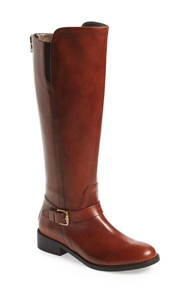 Bella vita Tall Riding Boot in Brown