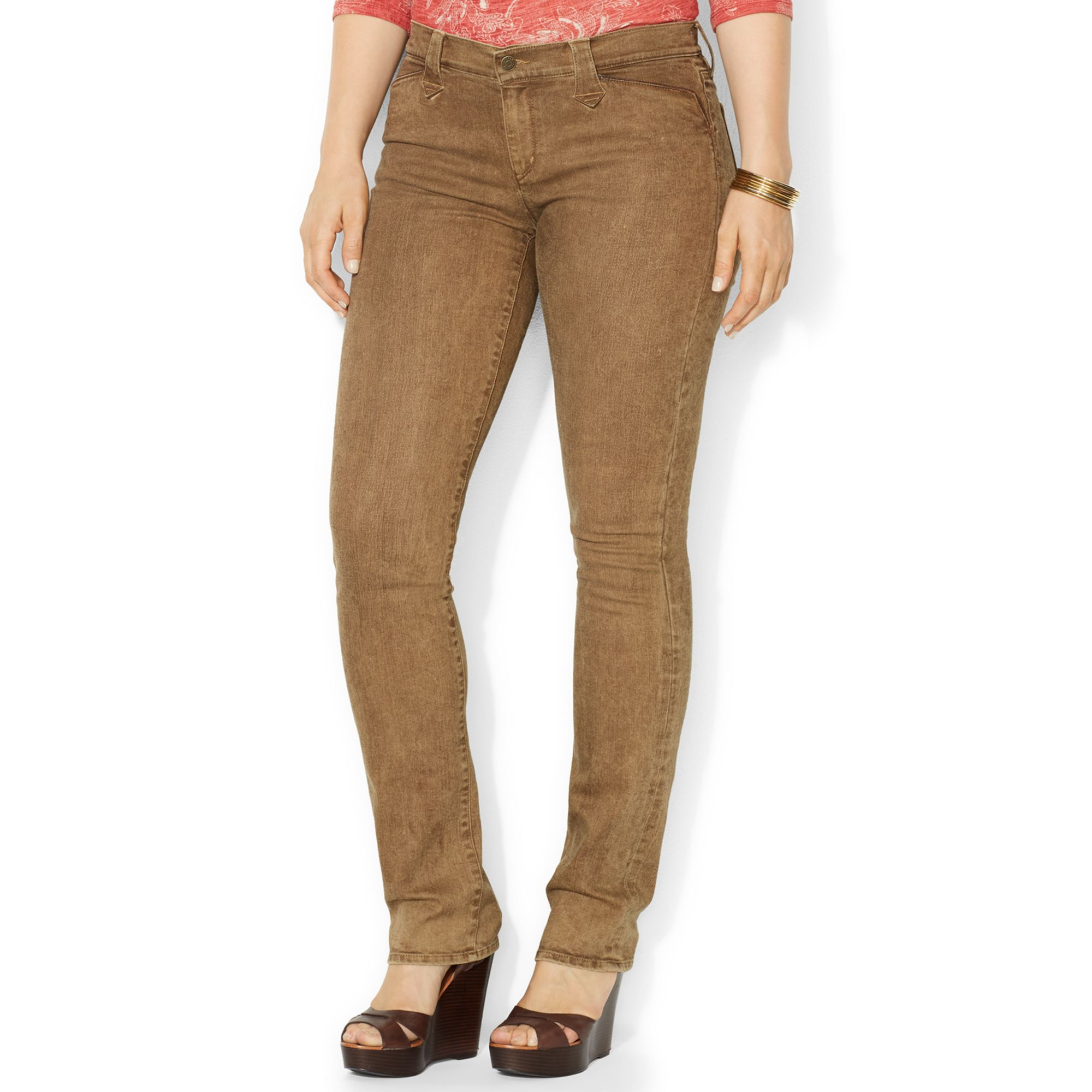 Plus Size Brown Jeans | Bbg Clothing