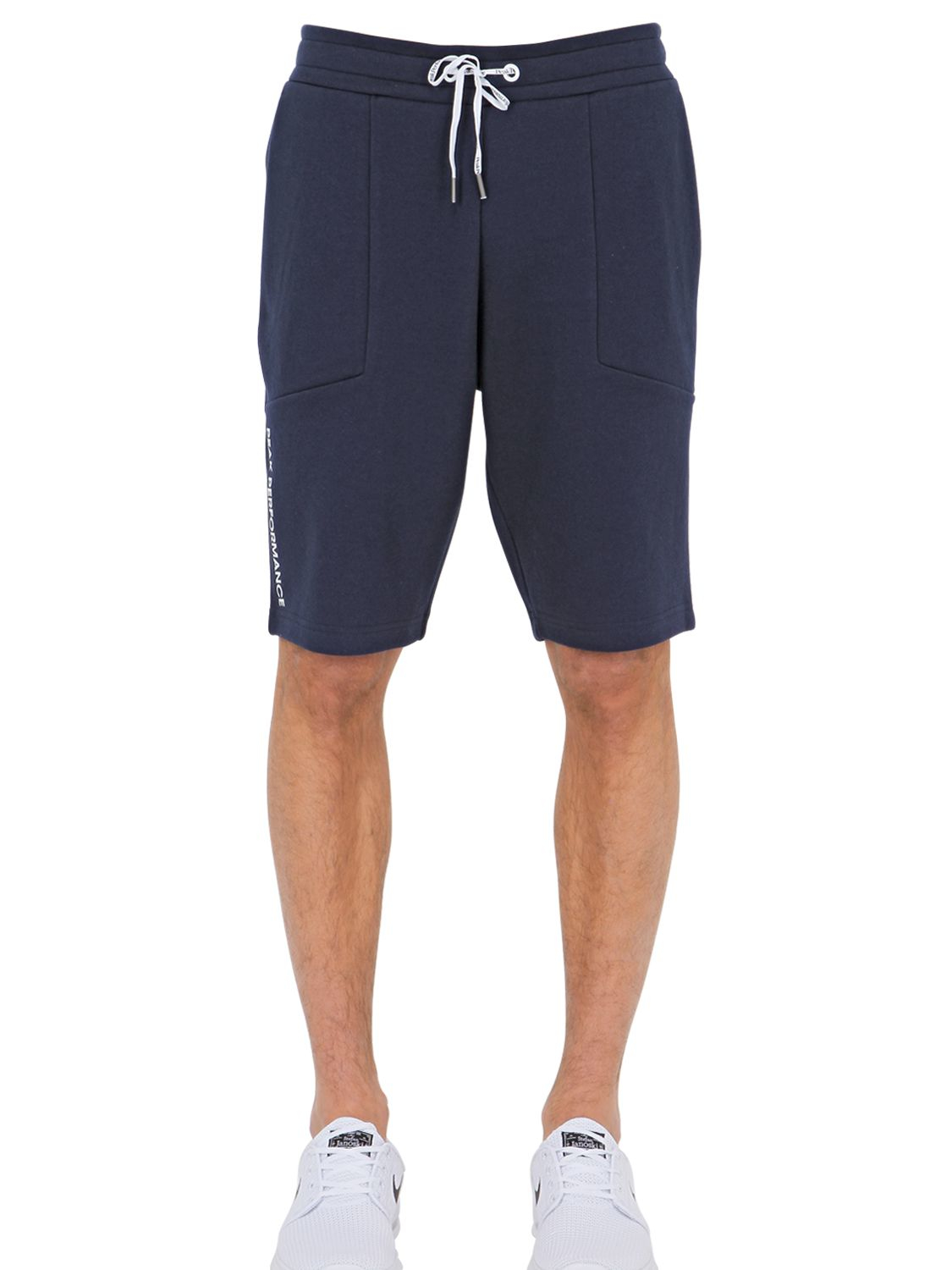 234aae3aa5 Peak Performance Cotton Blend Jogging Shorts in Blue for Men - Lyst