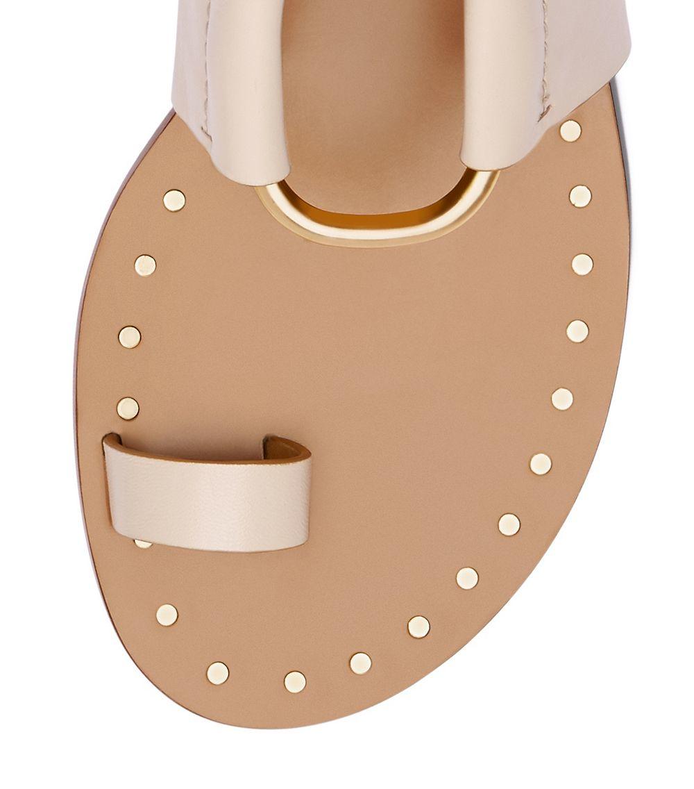 9420acd4b57c Tory Burch Brannan Studded Sandal in Pink - Lyst