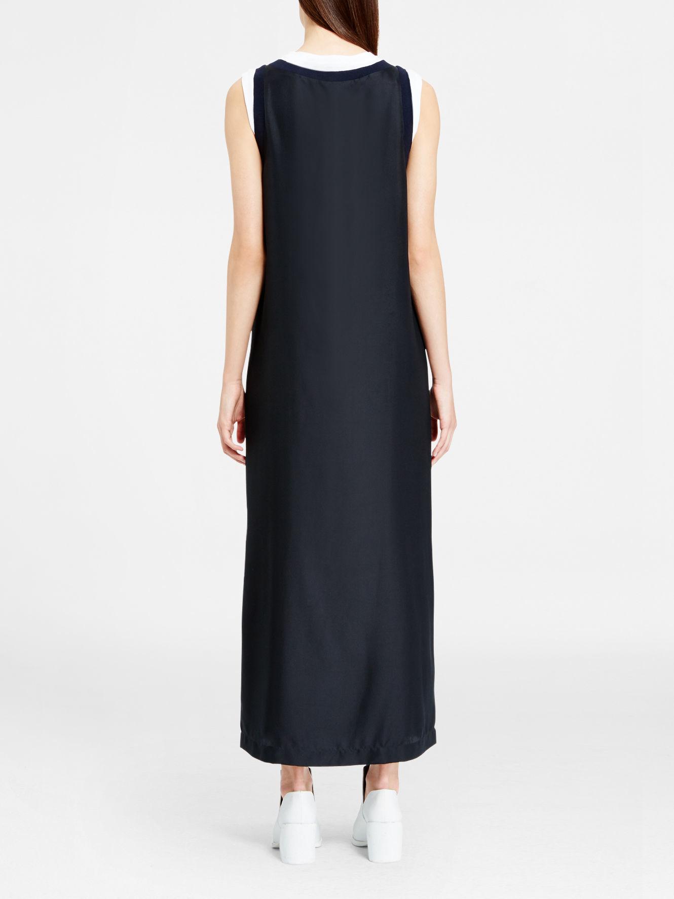 Dkny silk maxi dress