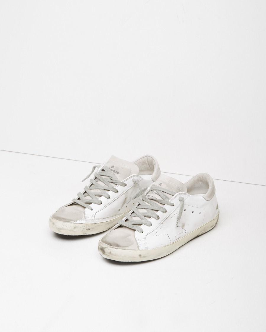 Golden Goose White Skate Superstar Sneakers IOcK6ItixZ