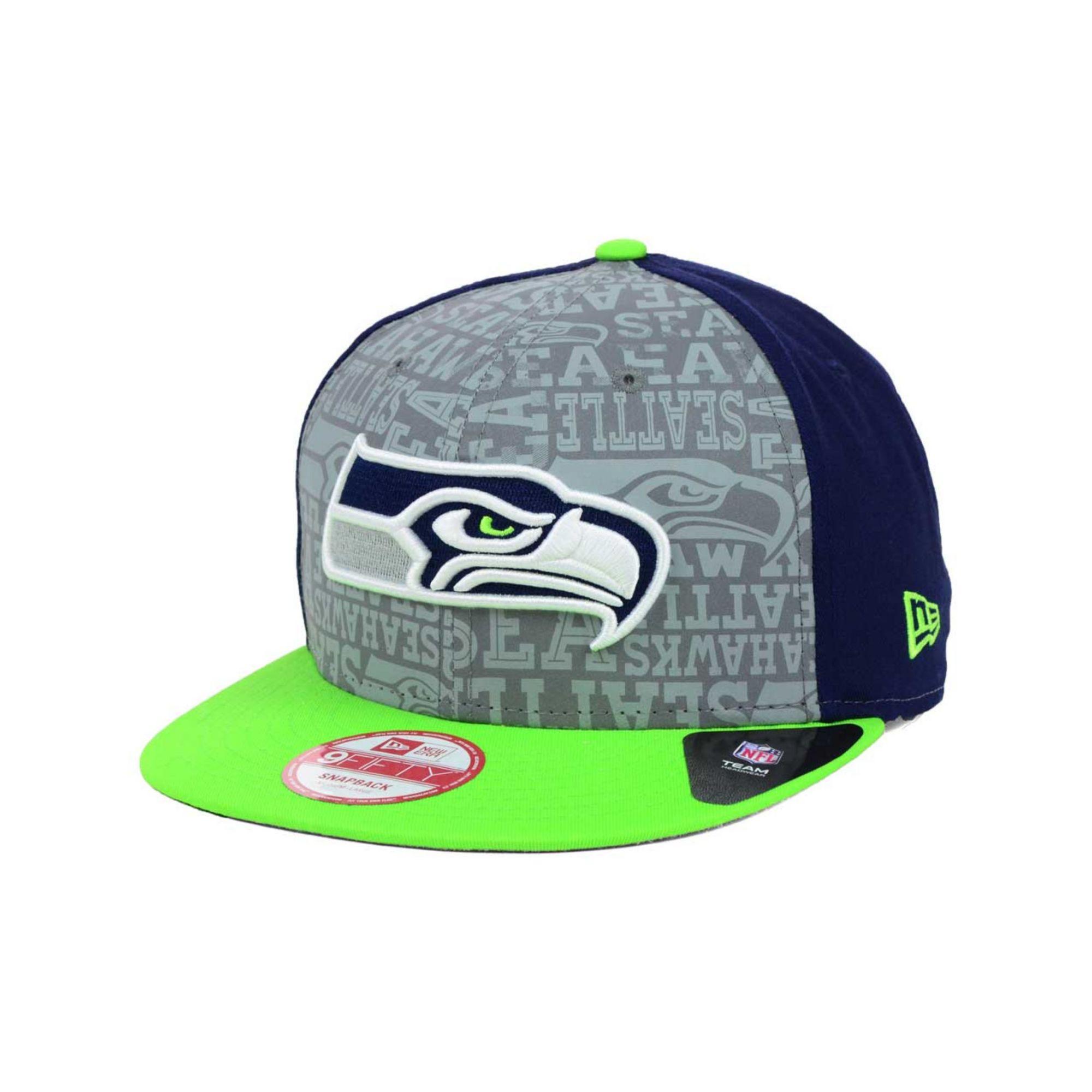 027c80e87 Lyst - KTZ Seattle Seahawks Nfl Draft 9fifty Snapback Cap in Green ...