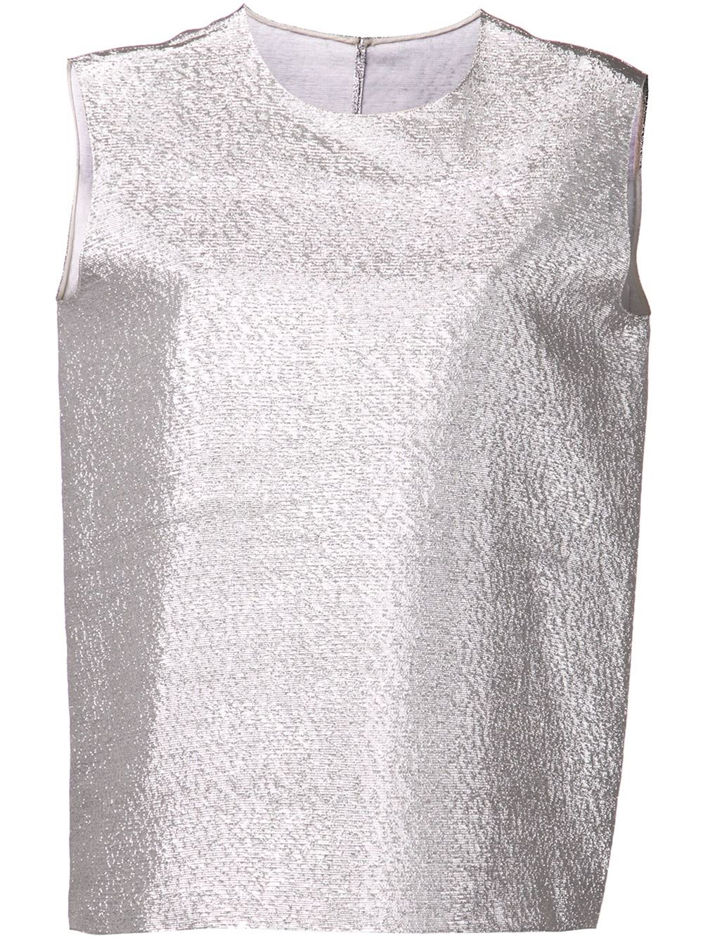 c2ac4af2c7e1a Lyst - Maison Rabih Kayrouz Shimmer Tank Top in Metallic