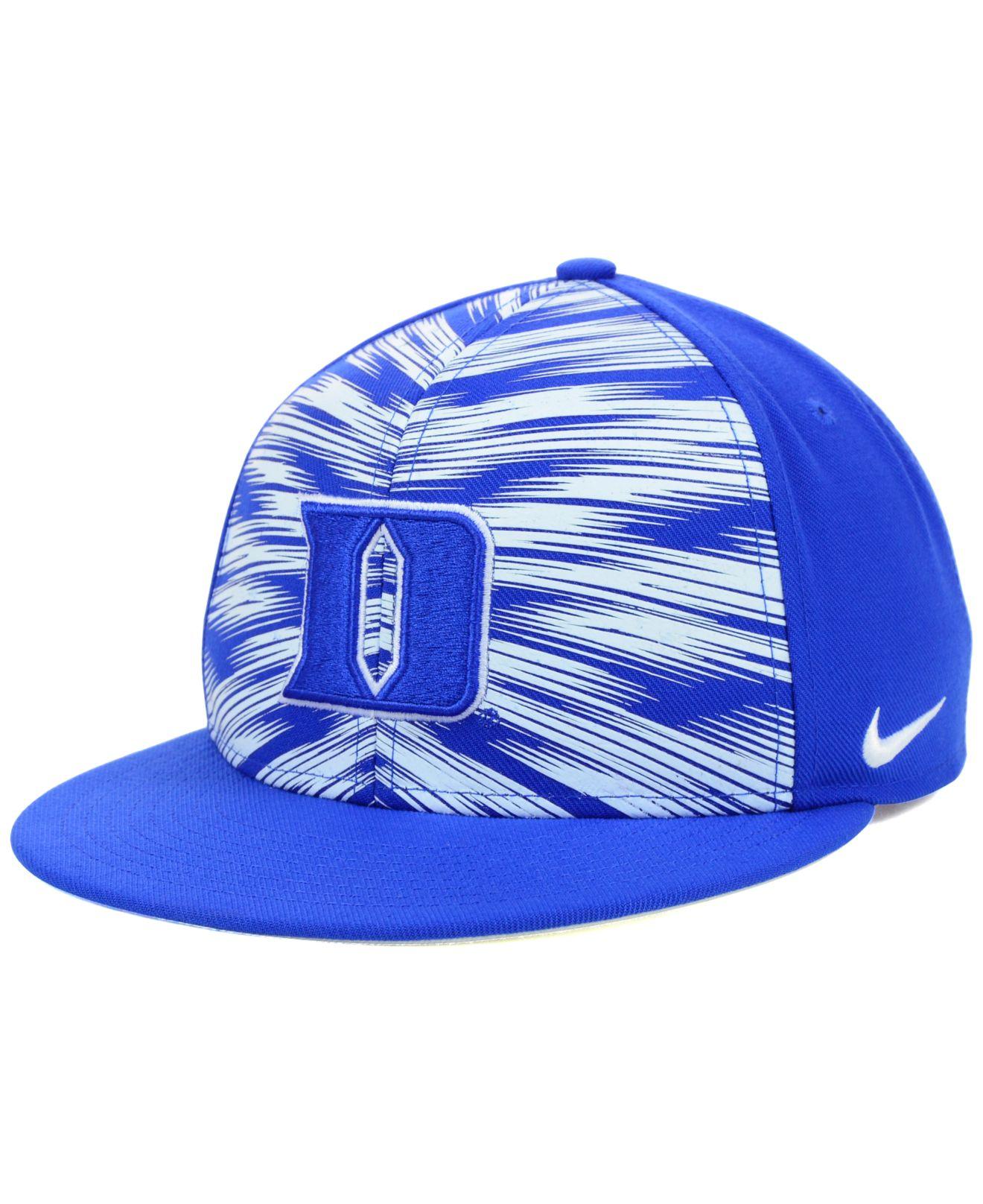 best sneakers e5f57 b6ae6 Lyst - Nike Duke Blue Devils Game Day Snapback Cap in Blue for Men