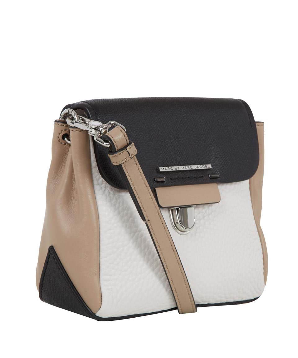76e3803d53 Lyst - Marc By Marc Jacobs Tricolour Sheltered Island Noha Leather ...