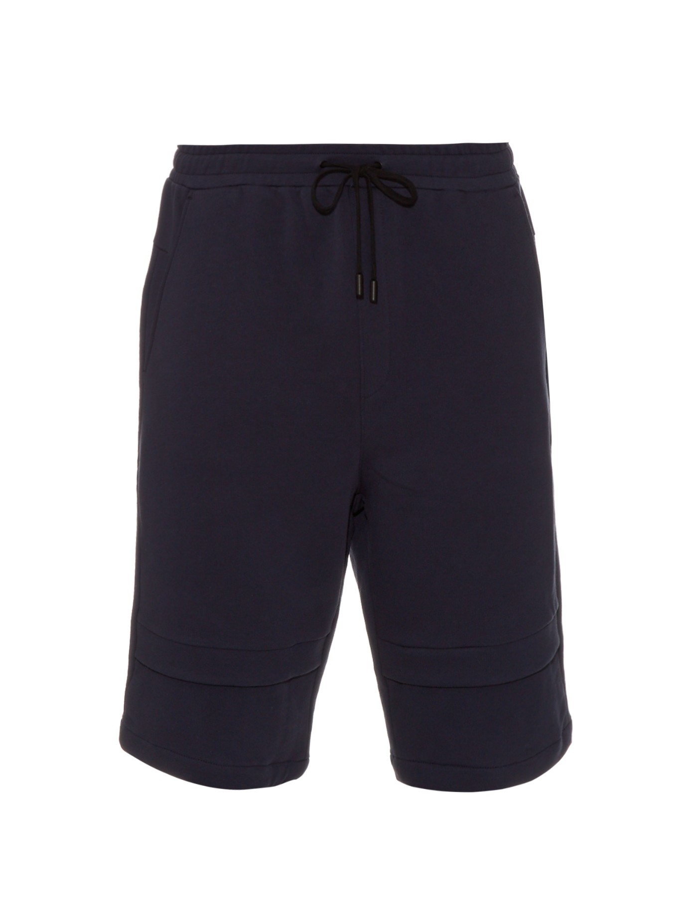 Public school Zagut Drawstring Cotton Shorts in Black for Men | Lyst