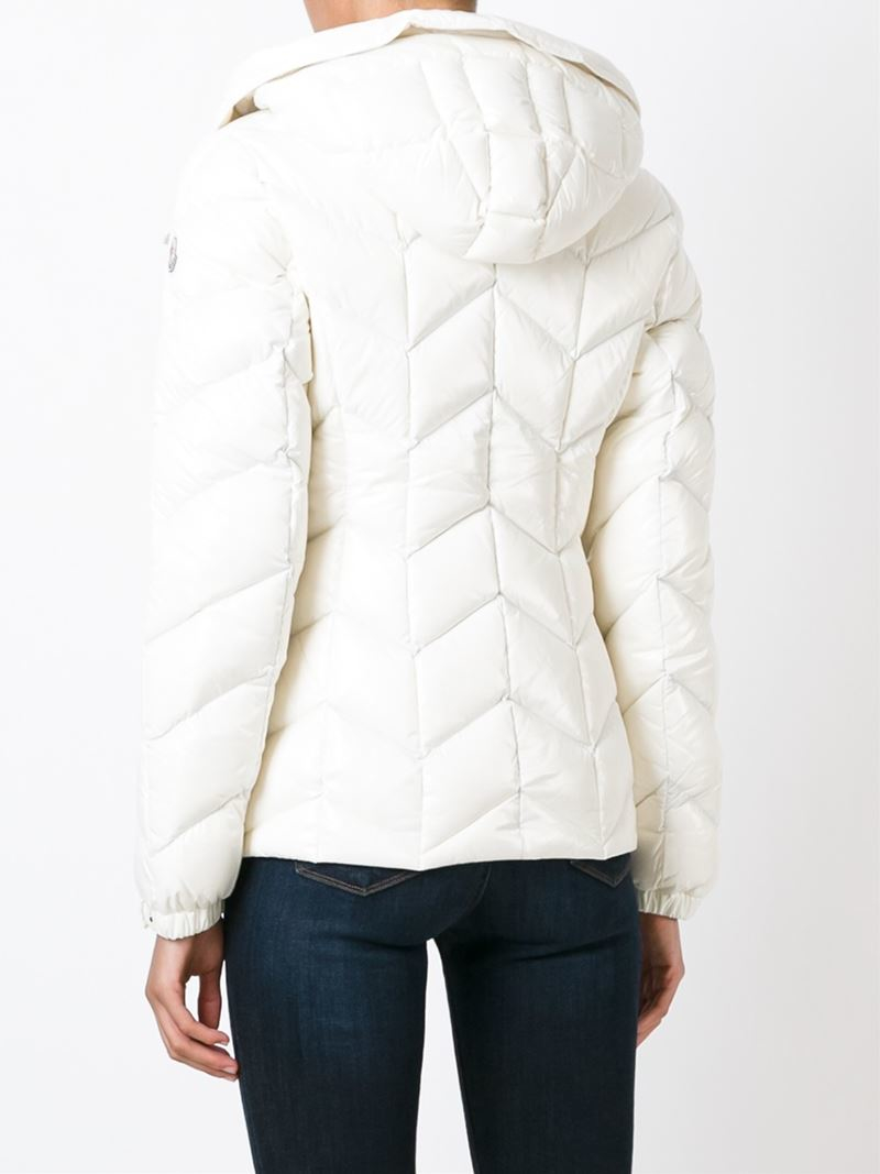 Lyst Moncler Crussol Quilted Jacket In White