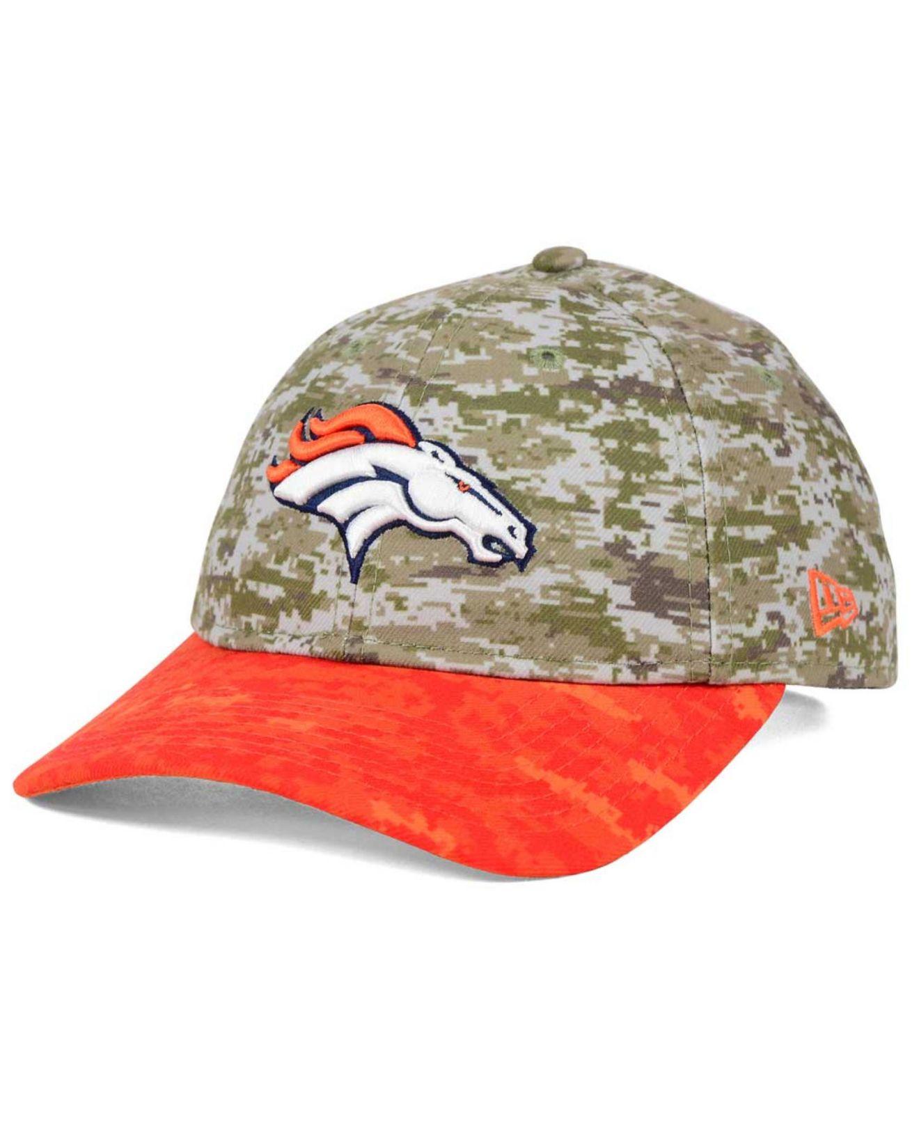 Lyst - KTZ Women s Denver Broncos Salute To Service 9twenty Cap in ... 6b446ed71