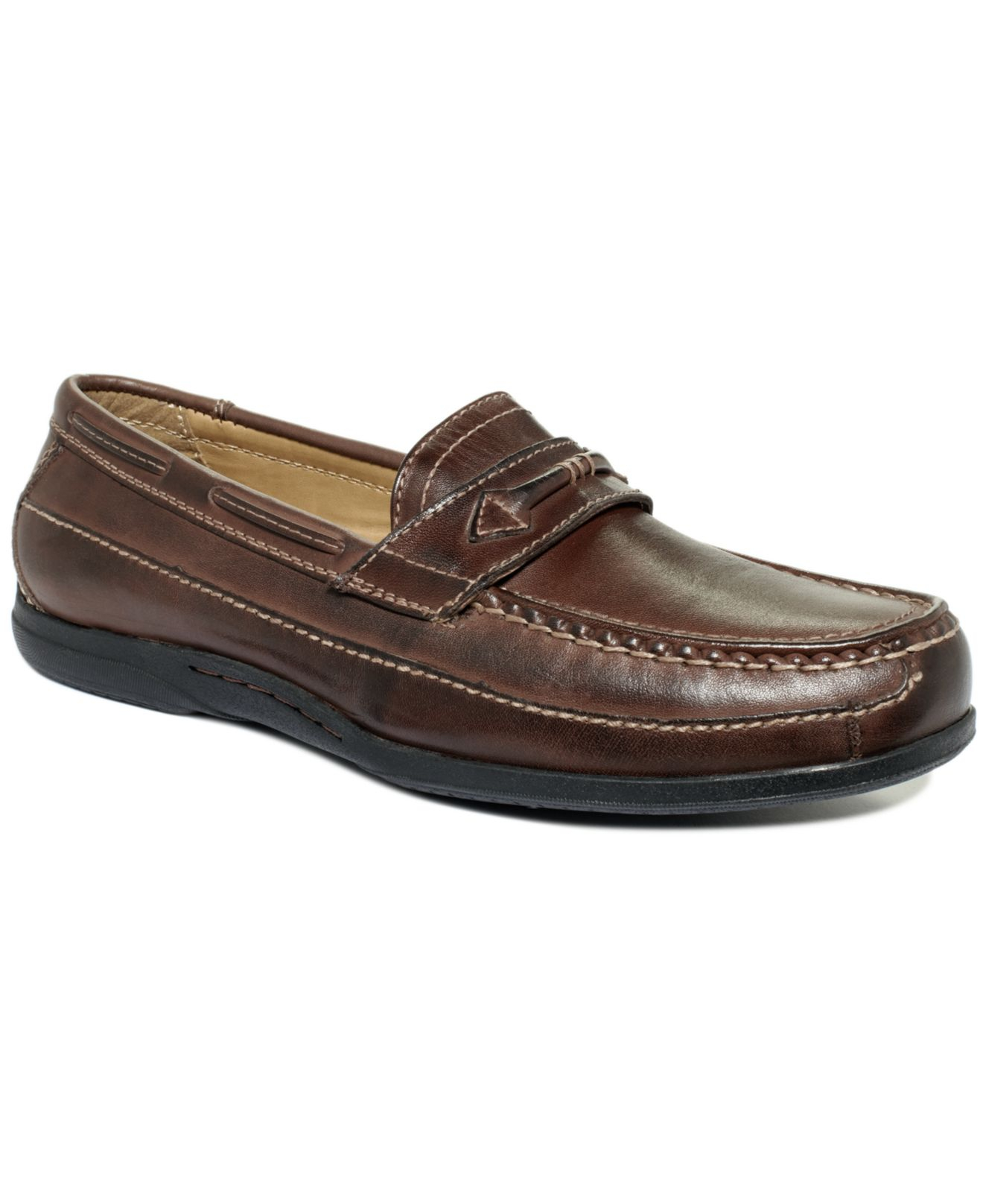 Rubber Rings For Men >> Dockers Shoes, Kingston Driver With Keeper Shoes in Brown for Men | Lyst