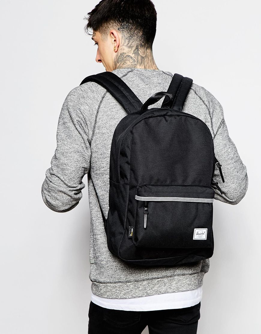 Lyst - Herschel Supply Co. Winlaw Backpack In Cordura 16.75l With Leather  Trim in Black for Men cd45a152a3f10
