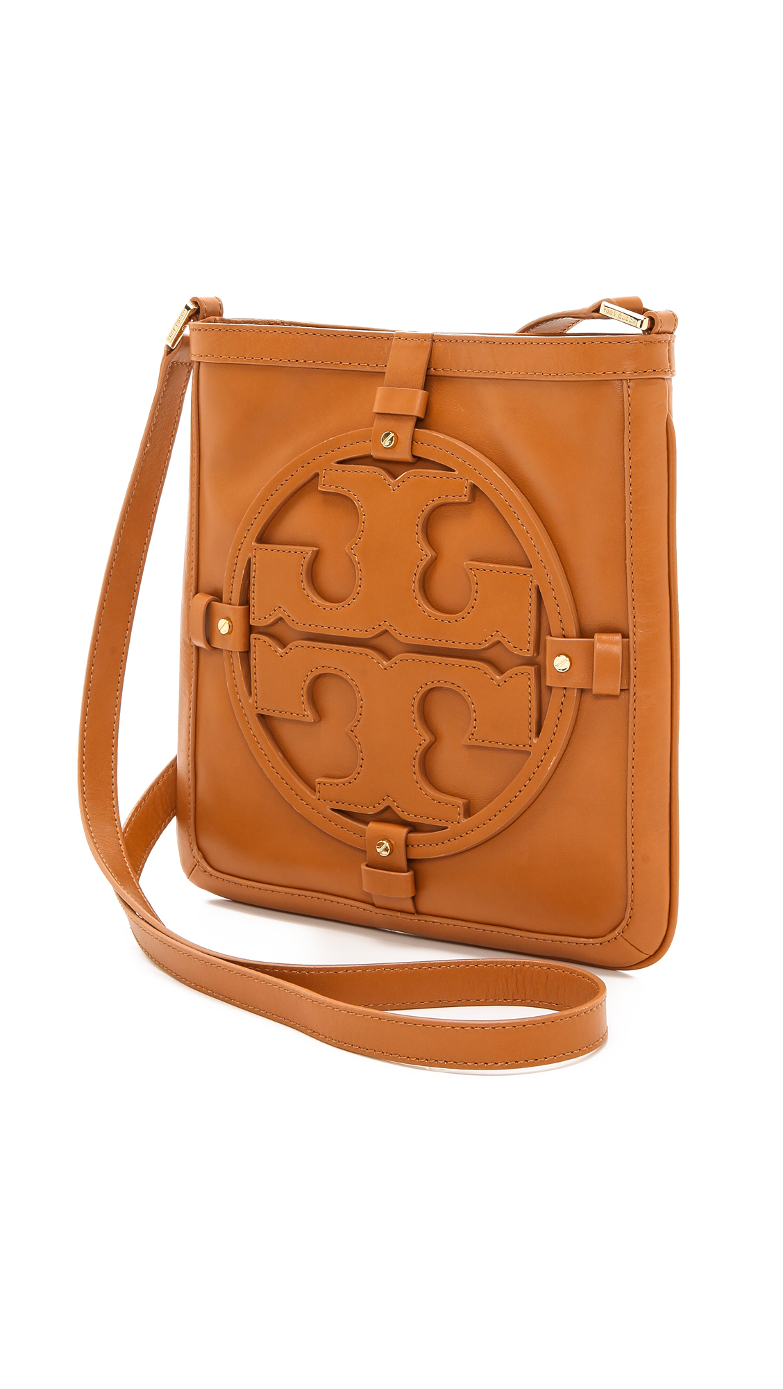 e6c86aaa80 Lyst - Tory Burch Holly Book Bag in Brown