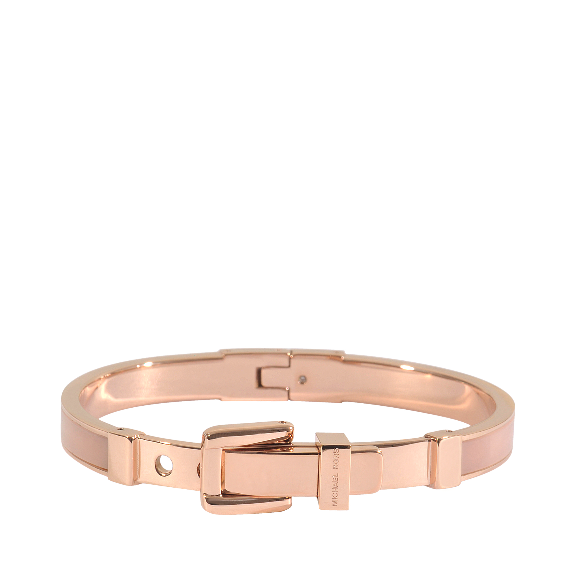 michael michael kors armband rose gold blush in pink lyst