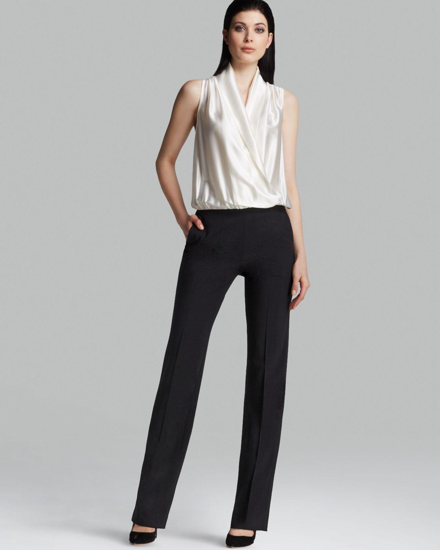 26eb8c897c41 Lyst - Armani Jumpsuit - Color Block in Black