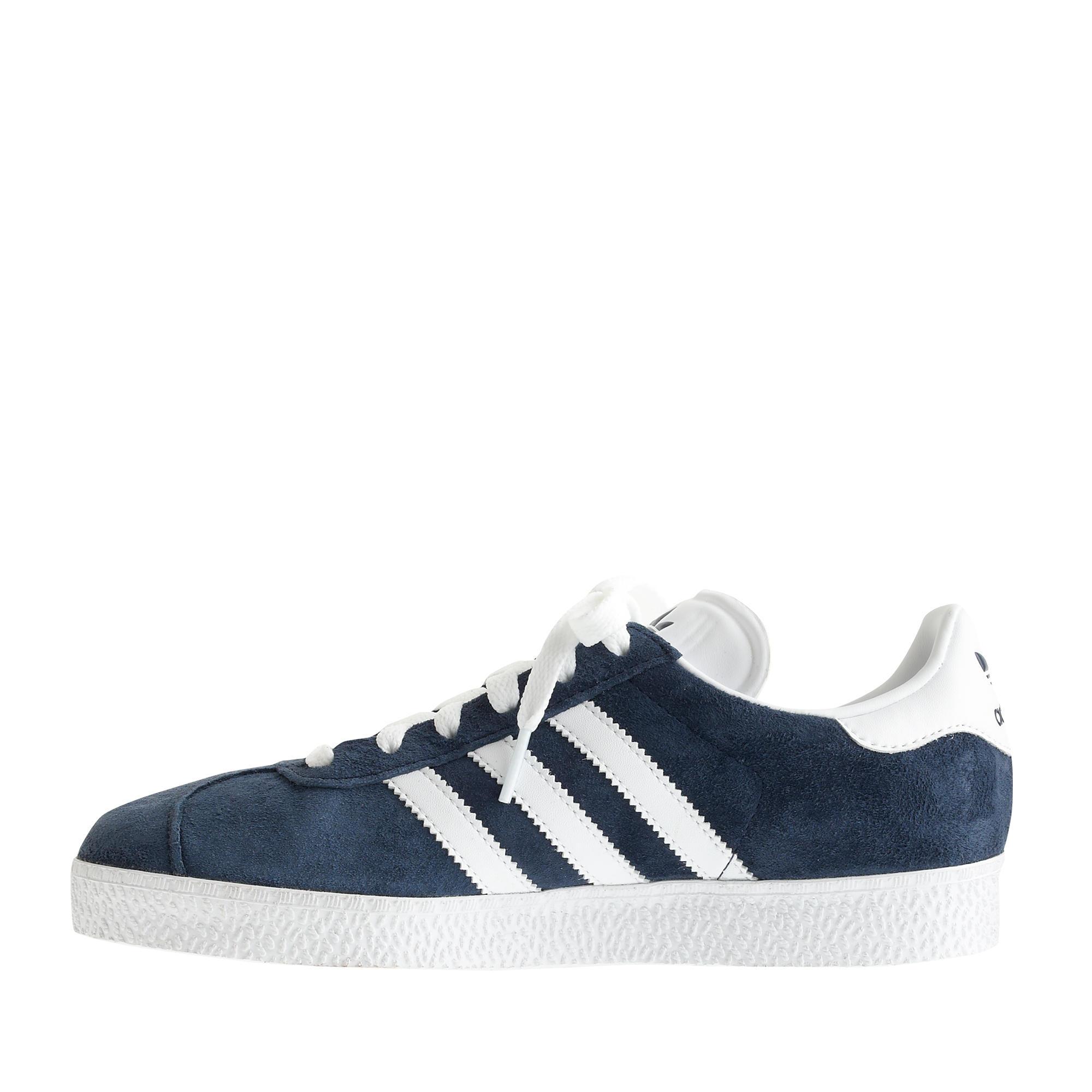 Lyst - J.Crew Unisex Adidas® Gazelle Sneakers in Blue 604645933
