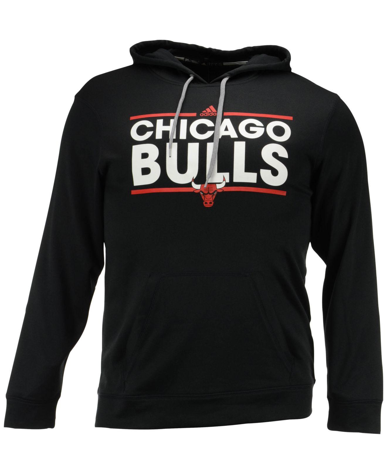 Lyst - Adidas Men s Chicago Bulls Dassler Hoodie in Black for Men 31c20f4c3d37
