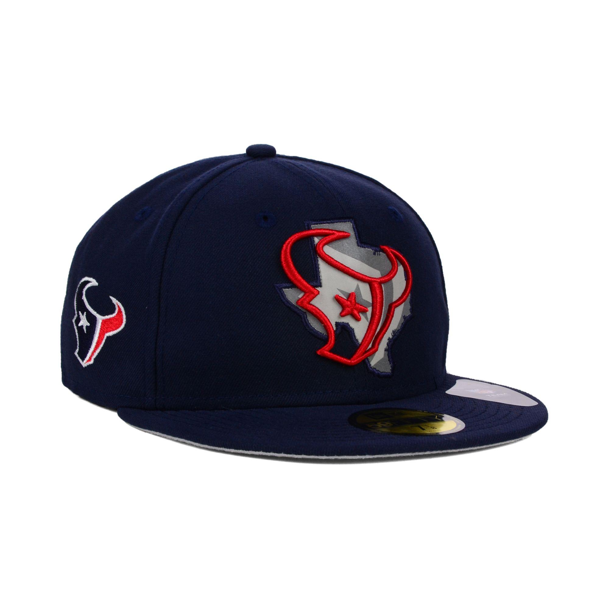 wholesale dealer a0789 0d24d ... get lyst ktz houston texans state flective 59fifty cap in blue for men  01348 c080c