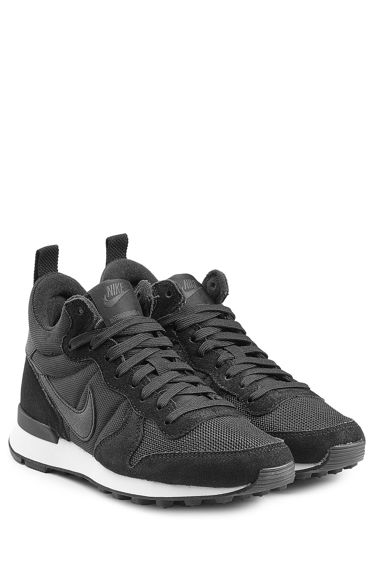 nike sneaker internationalist leather mid