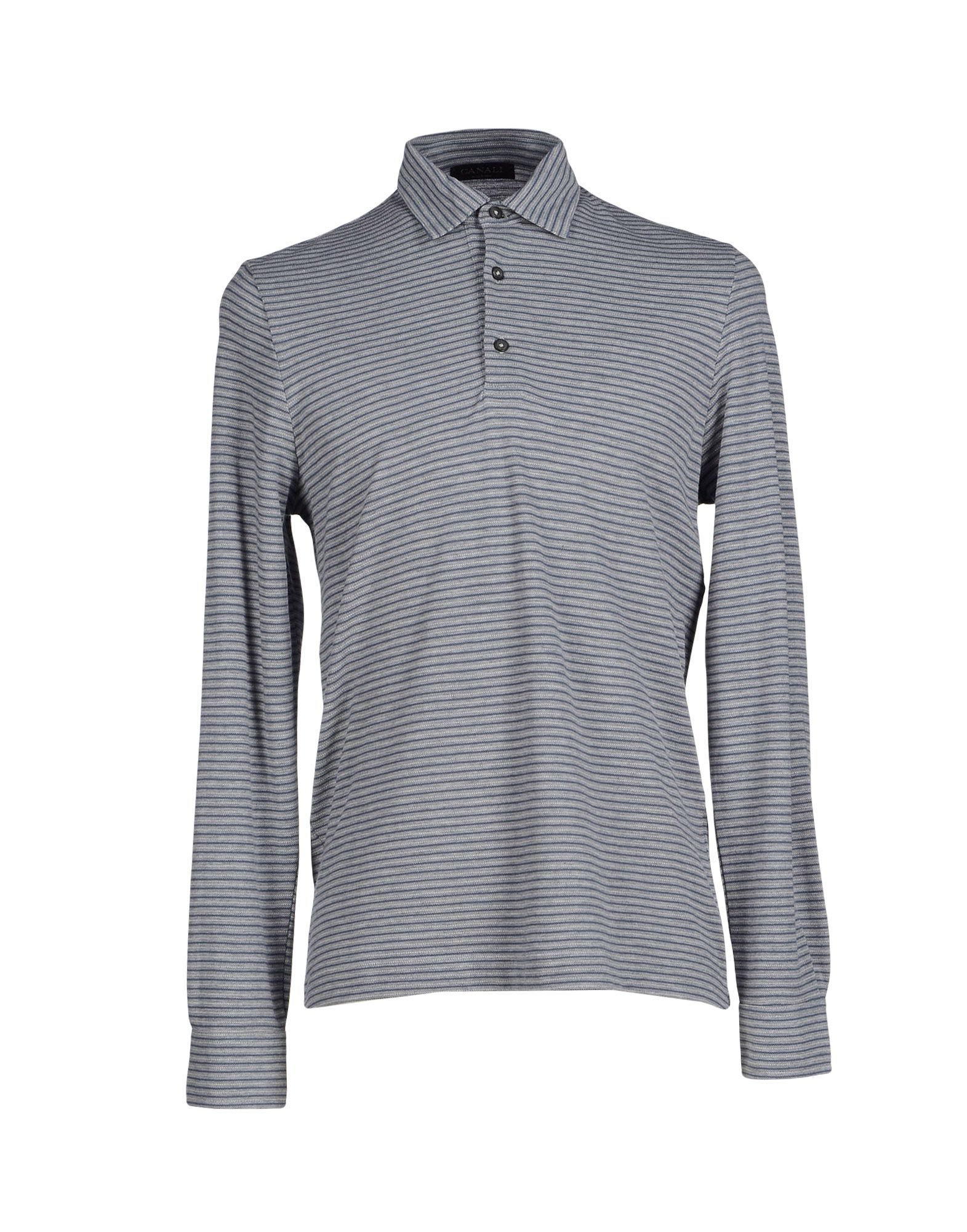 721a6496 Lyst - Canali Polo Shirt in Gray for Men