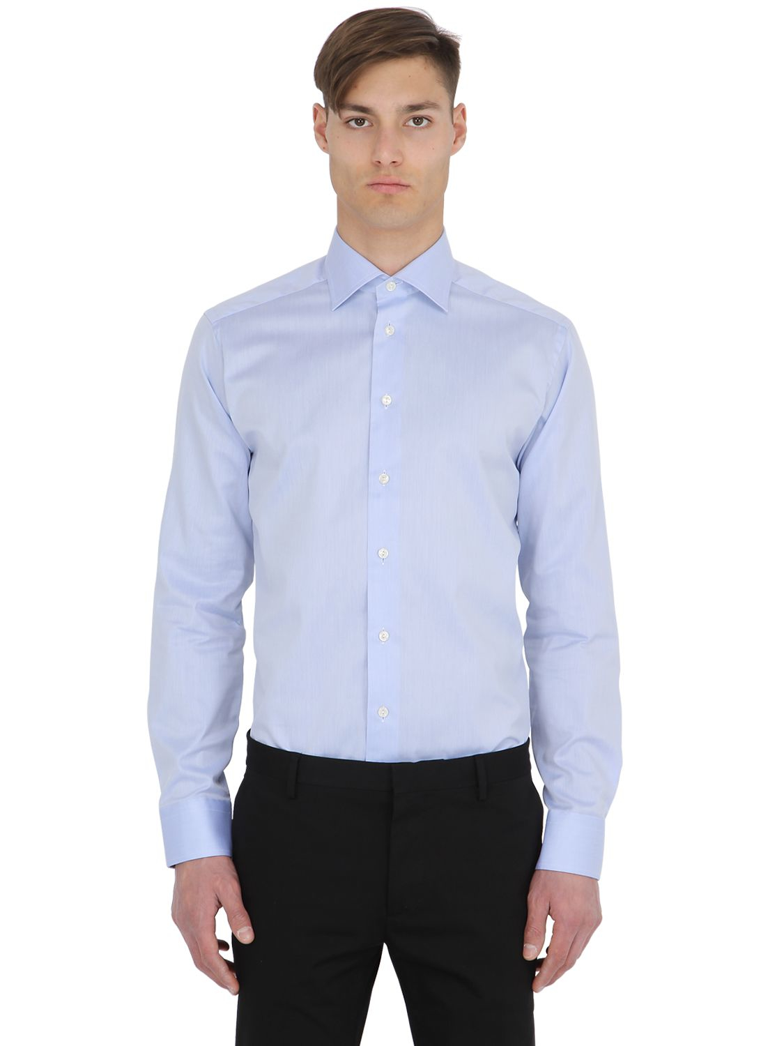 Eton Of Sweden Slim Fit Cotton Oxford Shirt In Multicolor