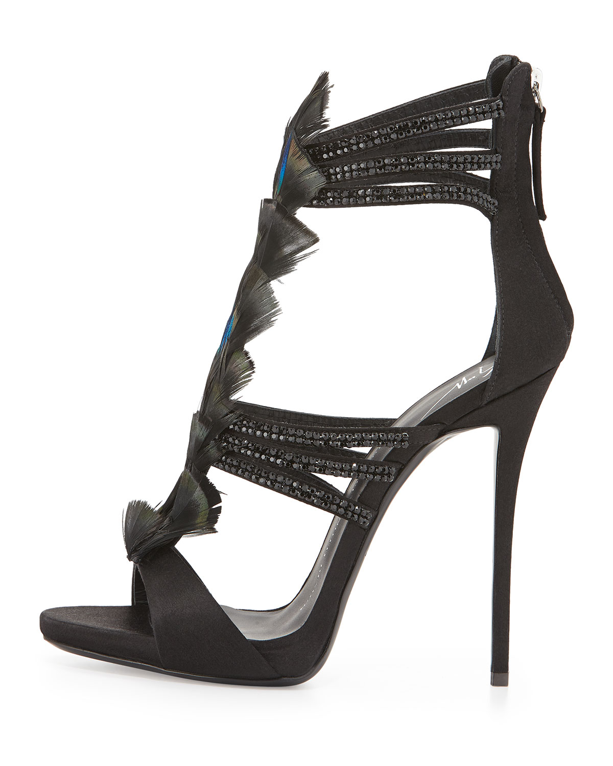 Giuseppe Zanotti Embellished strappy sandals NLHqCEZ6S