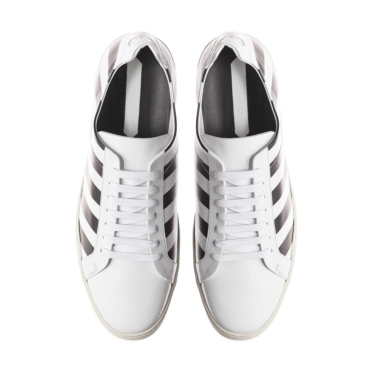 a651b0c0135d Lyst - Off-White c o Virgil Abloh Diagonals Sneakers in Black for Men