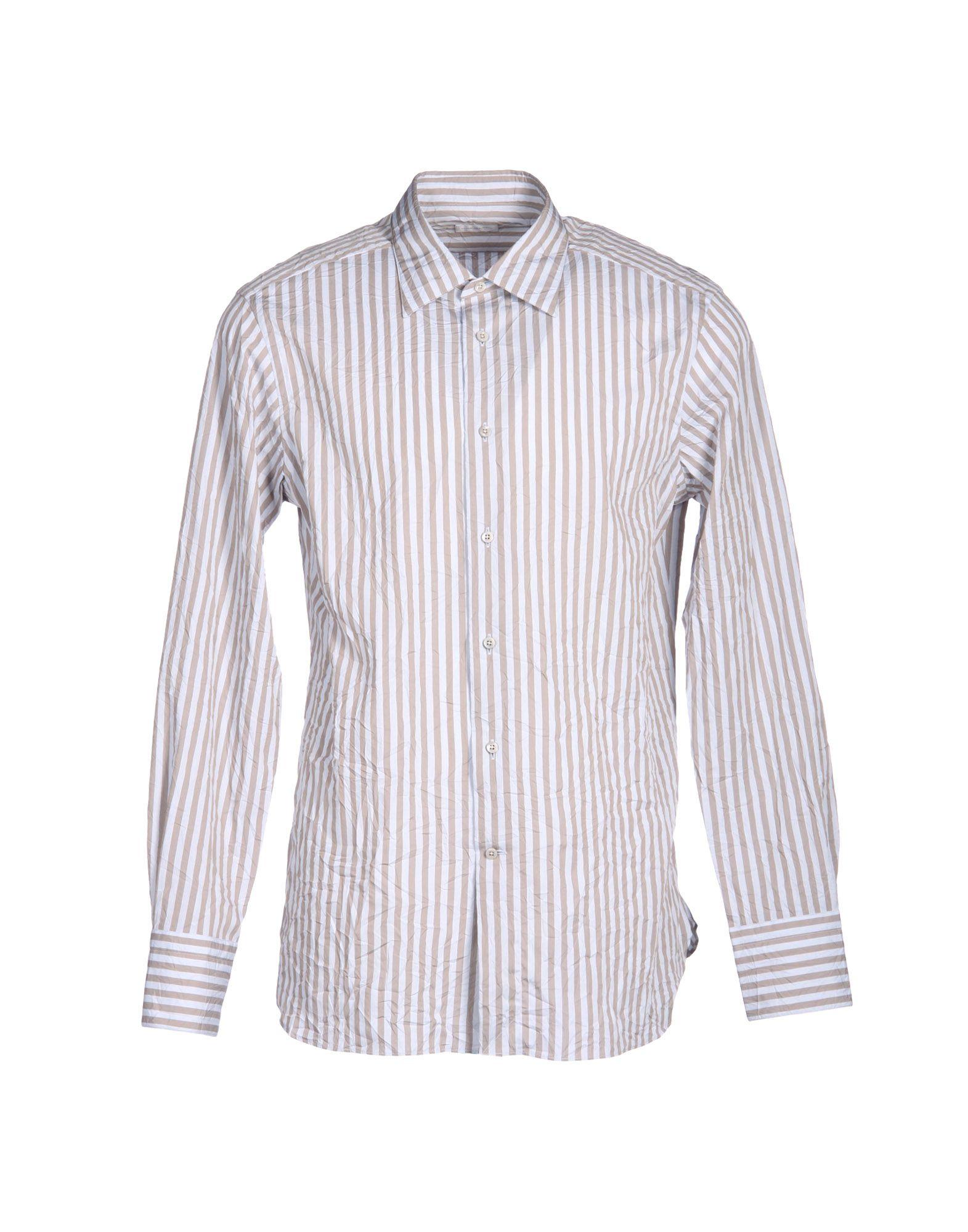 ermenegildo zegna shirt in gray for men dove grey lyst. Black Bedroom Furniture Sets. Home Design Ideas