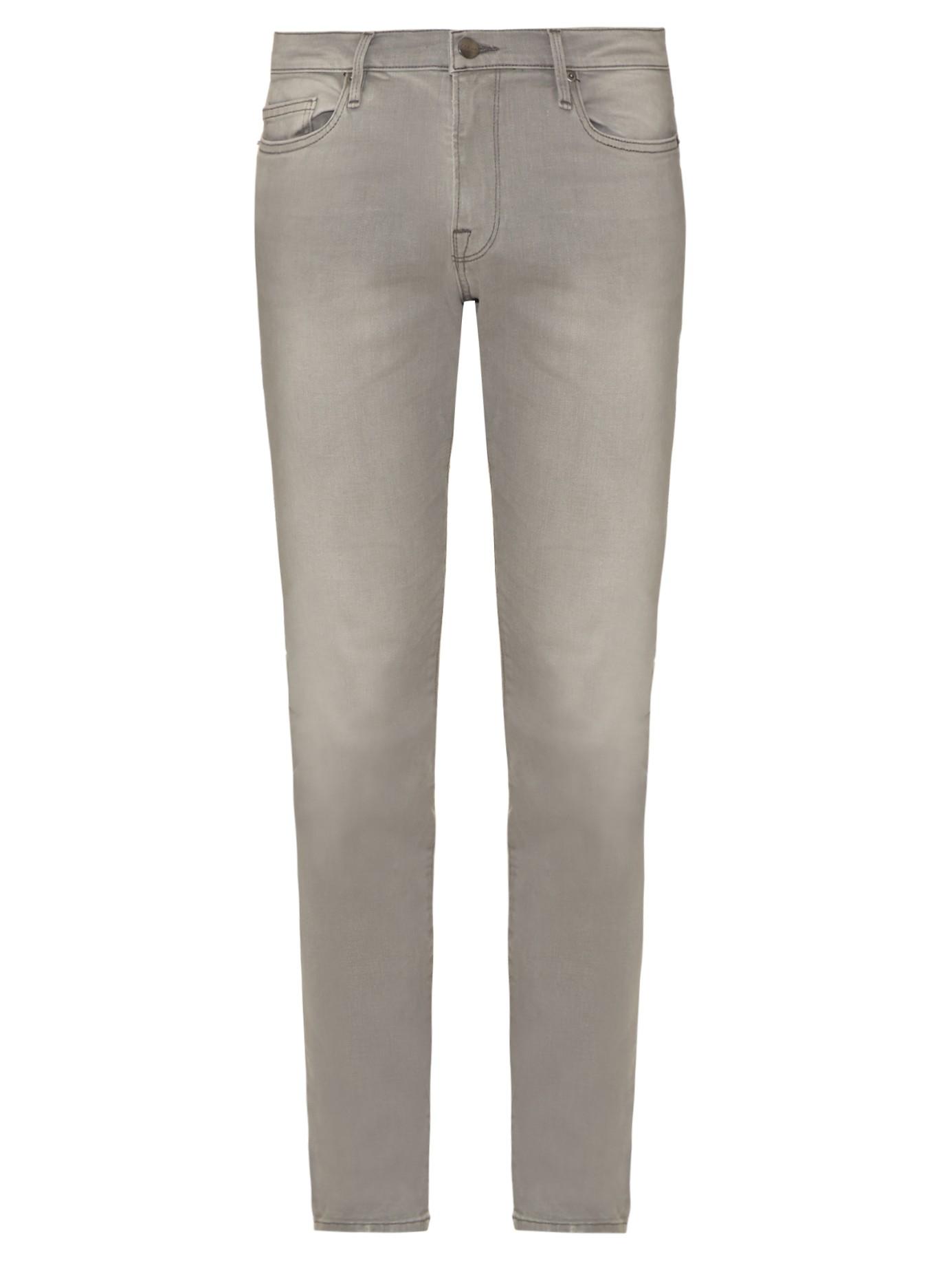 Lyst Frame L Homme Skinny Jeans In Gray For Men
