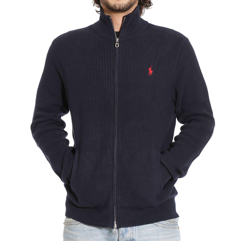 Lyst Polo Ralph Lauren Sweater In Blue For Men