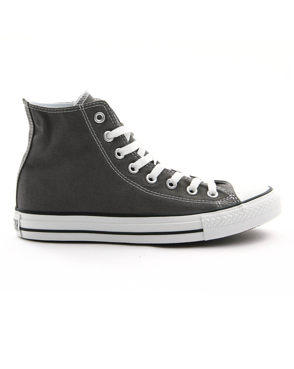 Converse grey canvas all star trainers in gray for men - Graue converse ...