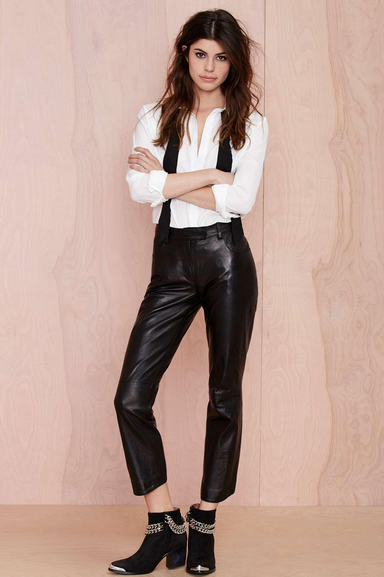 Leather women&#39