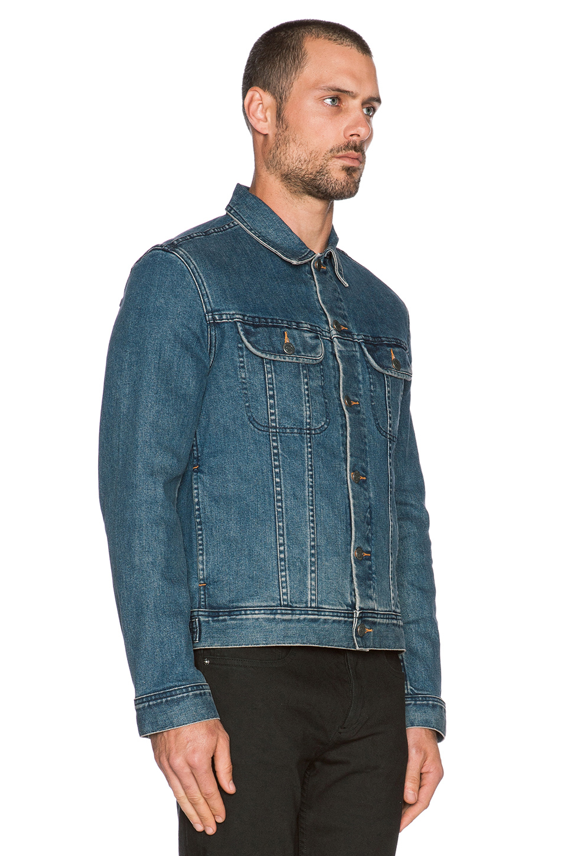 df7651794d25 Lyst - A.P.C. Veste Jean Us Denim Jacket in Blue for Men
