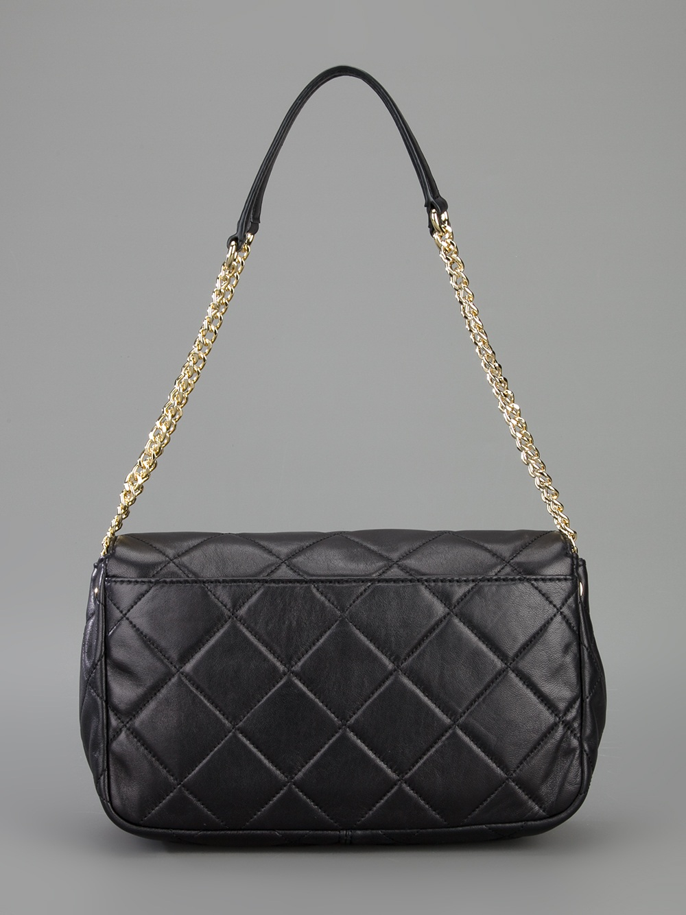 Lyst Michael Michael Kors Quilted Chain Shoulder Bag In