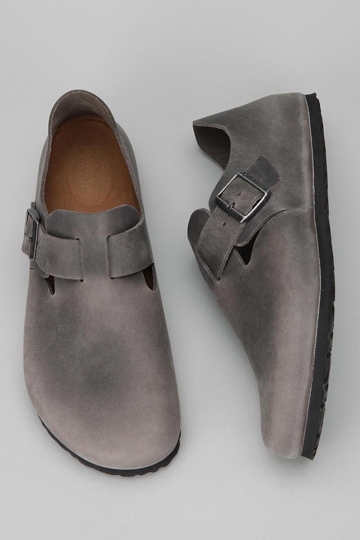 7e796edb8c6 Lyst - Birkenstock Oiledleather London Shoe in Gray for Men