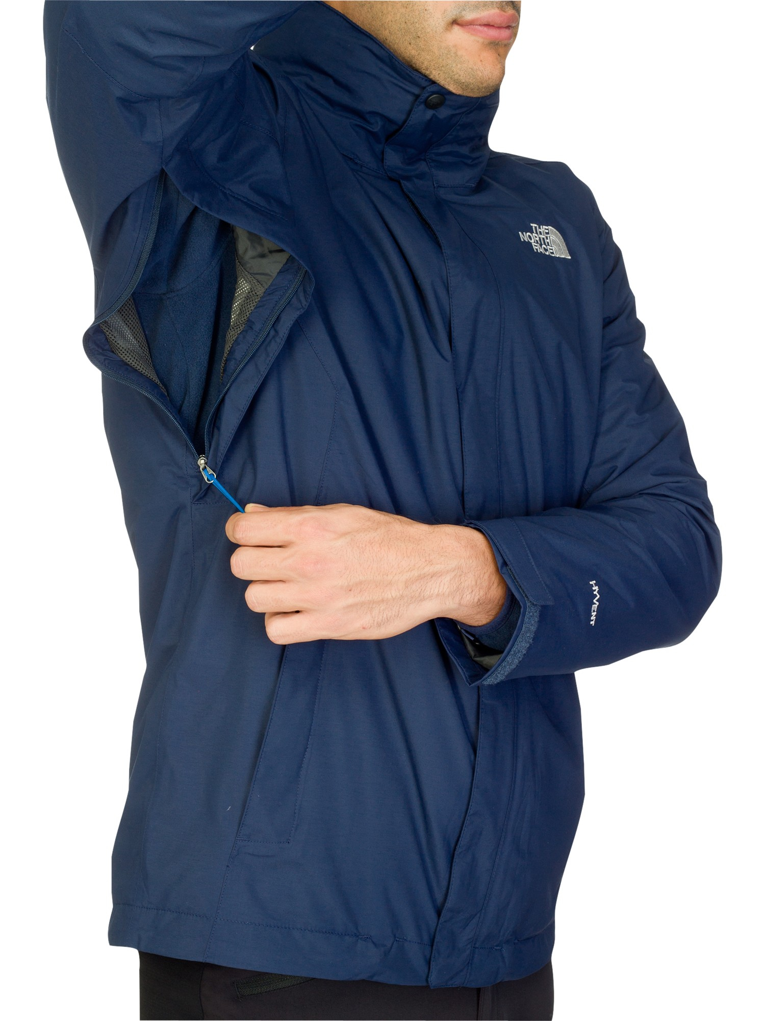 9d3f0e2347d ... canada the north face evolution triclimate 3 in 1 jacket in blue for  men lyst a118e