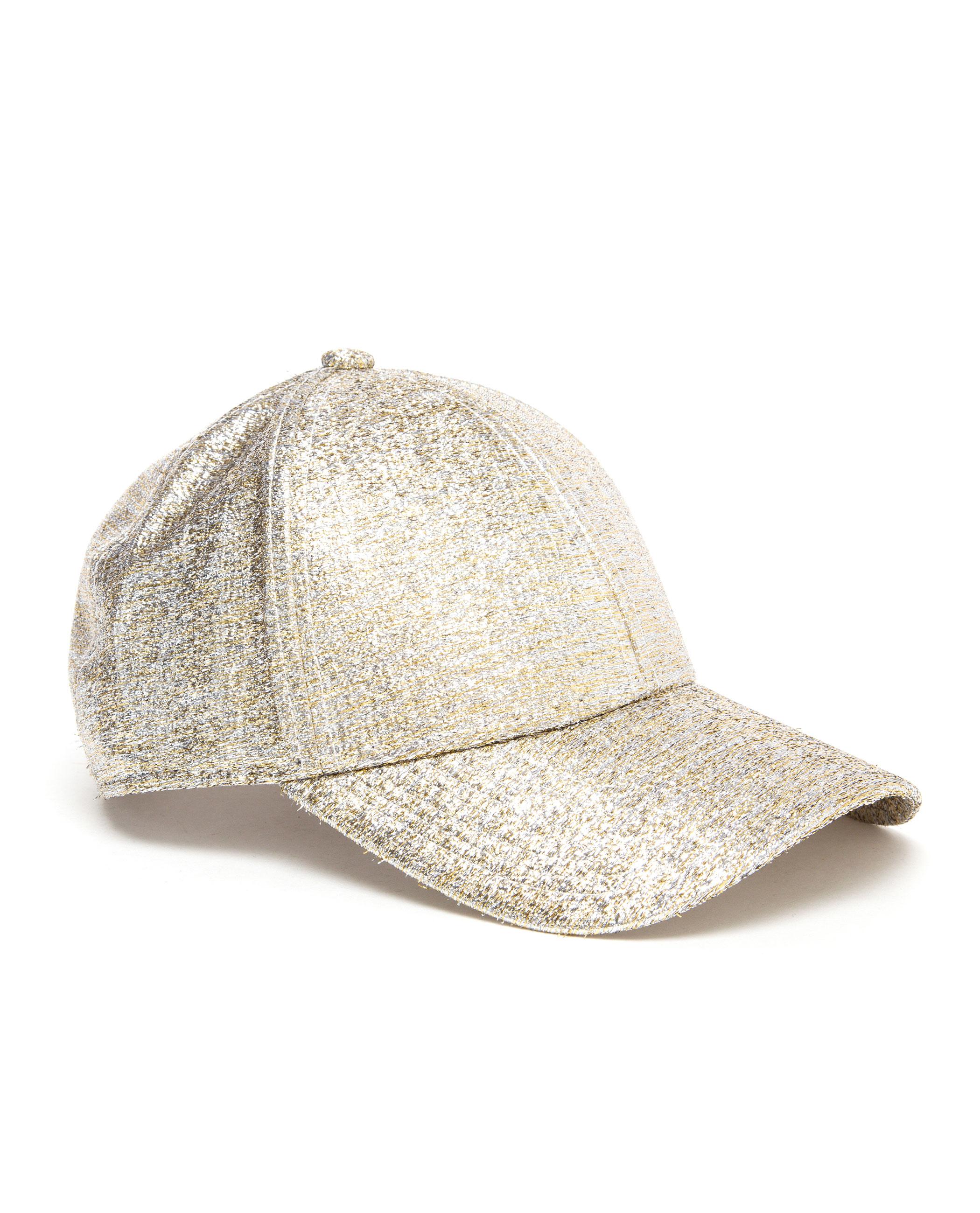 cc06d9640aa Acne Studios Camp Glitter Baseball Cap in Metallic - Lyst