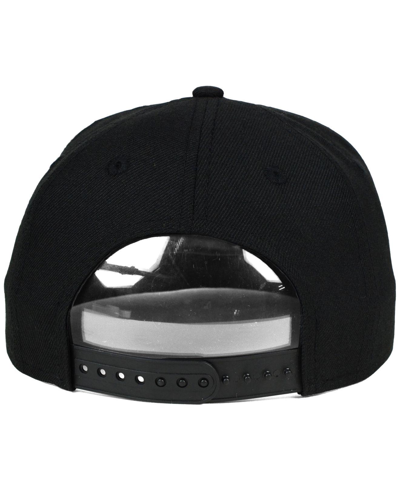san francisco 46d60 1e2fa ... wholesale lyst ktz kids charlotte hornets black white 9fifty snapback  cap d9220 9ccb1