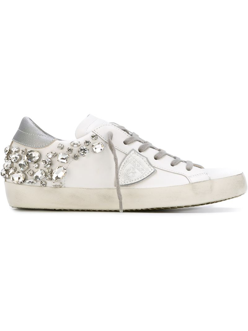 embellished sneakers - White Philippe Model lX0rgyKZW