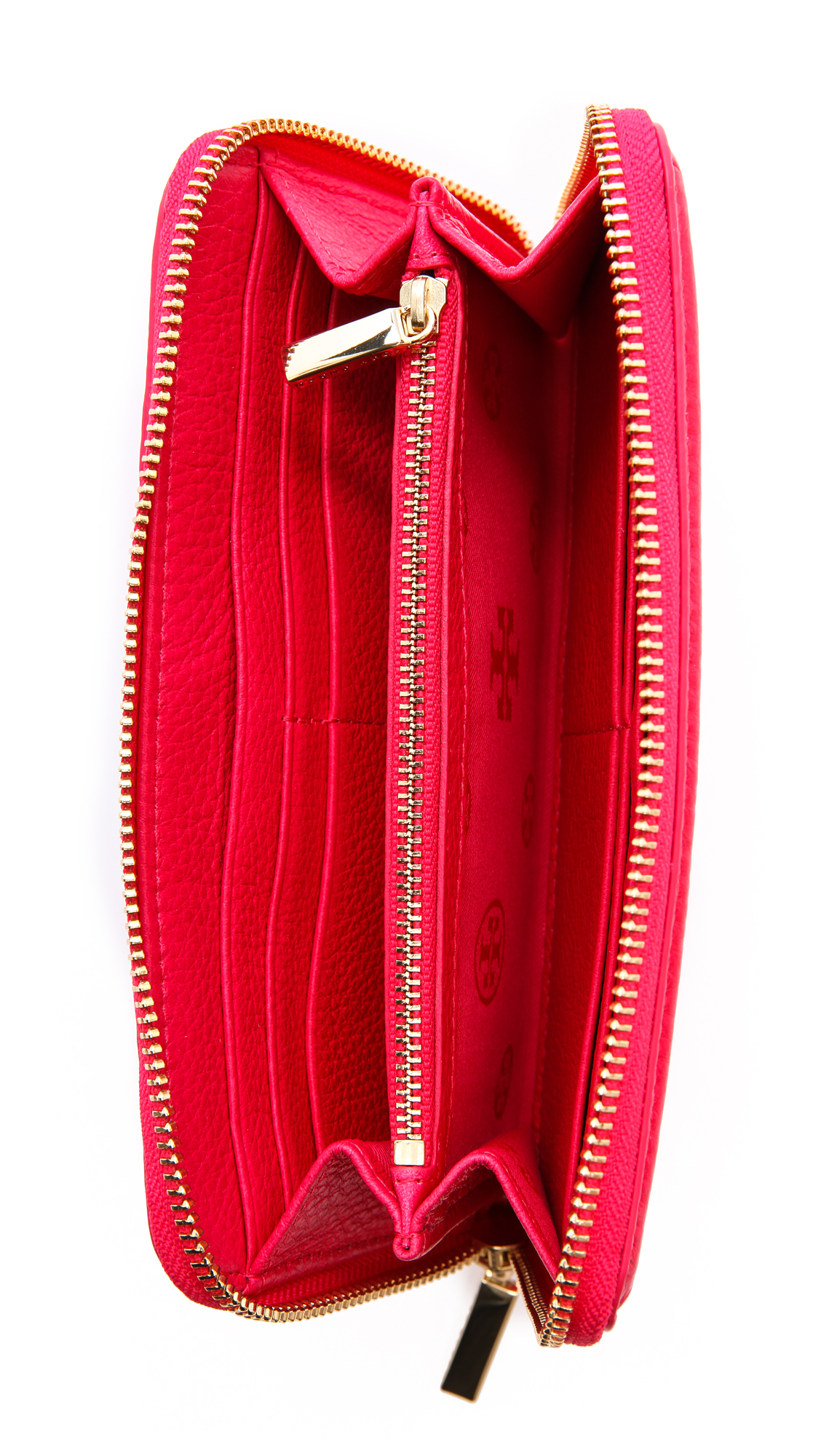 6518019d5f6 discount code for tory burch amanda zip continental wallet new carnival in  red lyst 45265 d9ff3