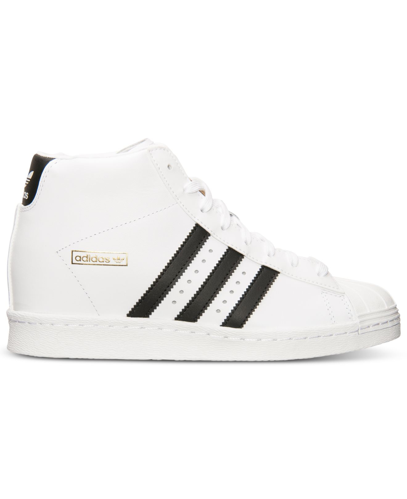 50a48bfd1 Lyst - adidas Women S Superstar Up Casual Sneakers From Finish Line ...