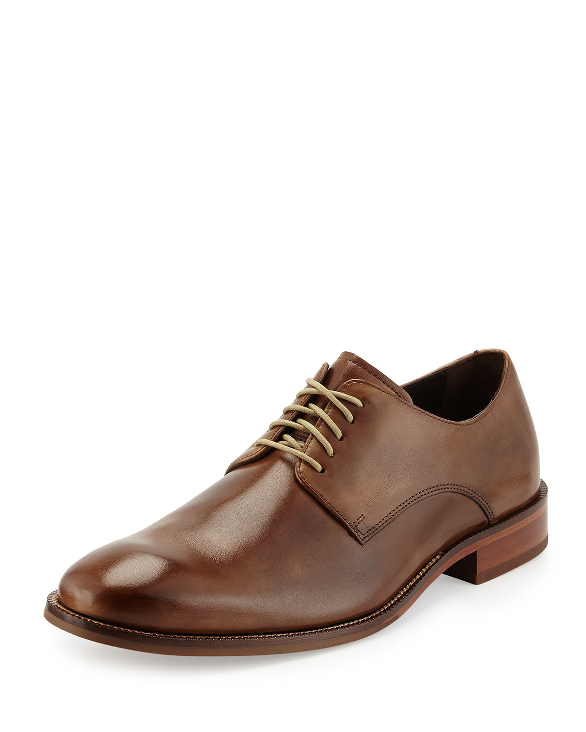 Cole Haan William Leather Lace-up Shoe In Brown For Men
