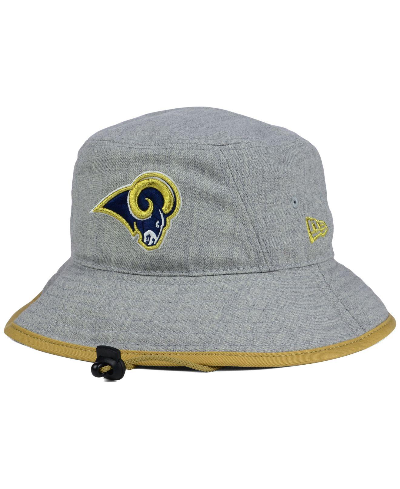 Lyst - Ktz St. Louis Rams Nfl Heather Gray Bucket Hat in Gray