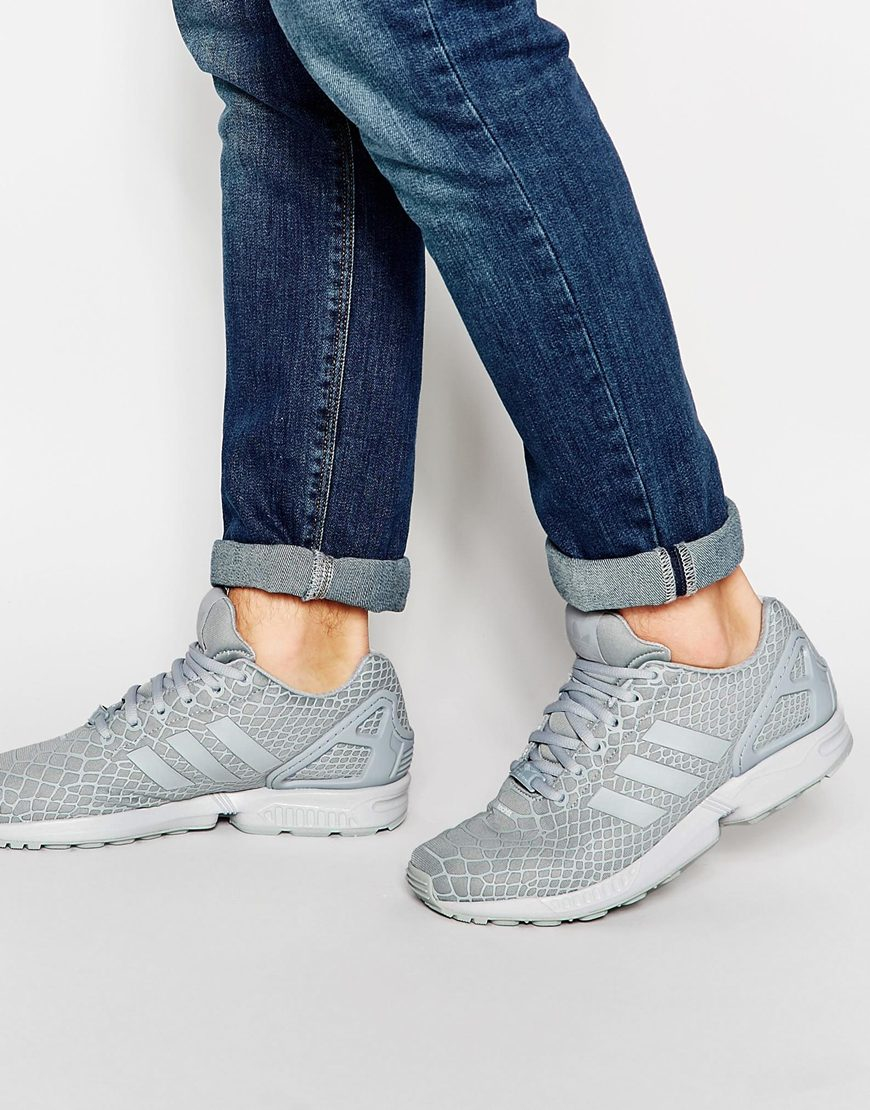 1a5924807fd34 Lyst - adidas Originals Zx Flux Tf Trainers Af6389 in Gray for Men