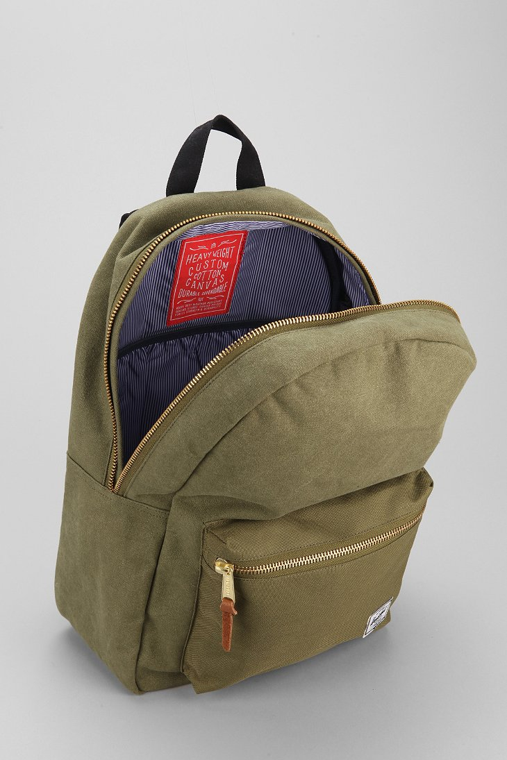 5a47ee61c6 Lyst - Herschel Supply Co. Settlement Cotton Canvas Backpack in ...