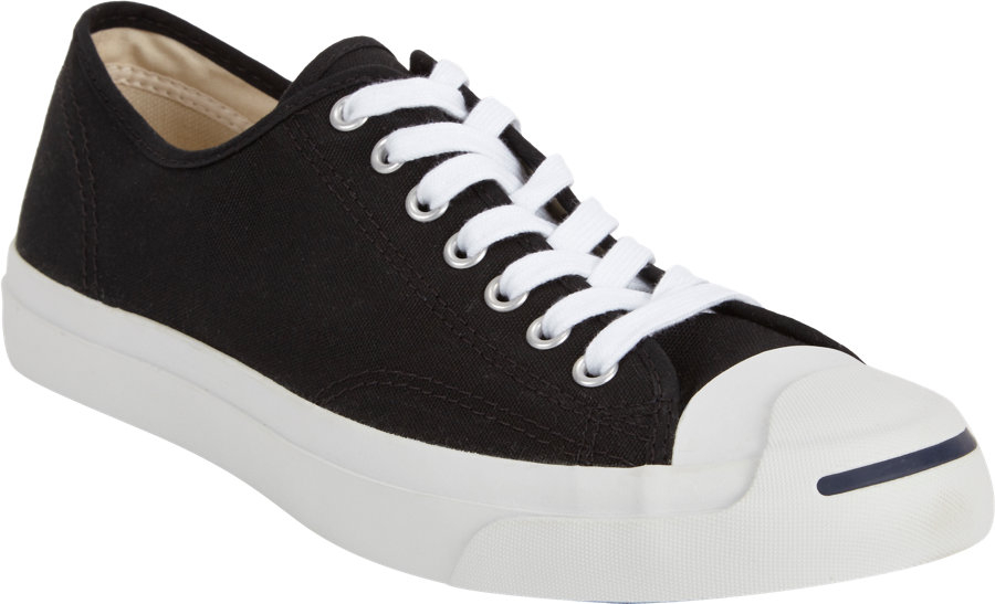 1809dc1d09a0d3 Lyst - Converse Jack Purcell Canvas Low-Top Sneakers in Black for Men