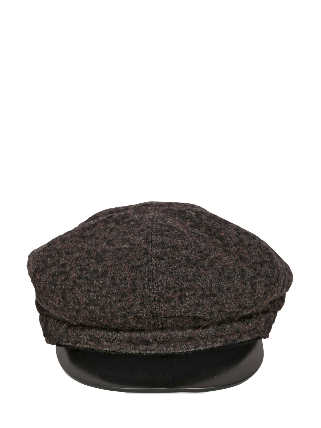 Lyst - SuperDuper Hats Wool Conductor Hat in Black for Men d0781bf0c085