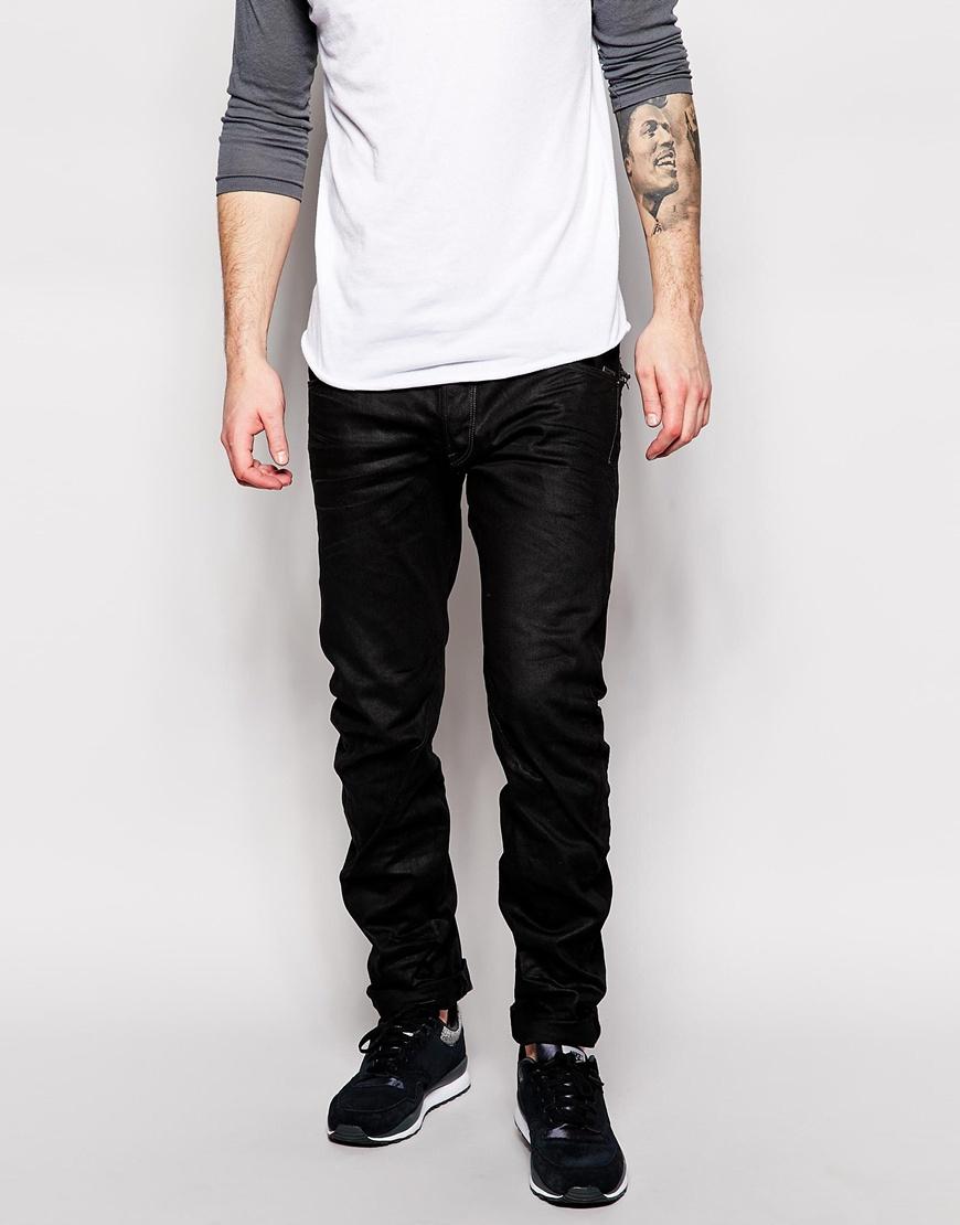 g star raw jeans arc zip 3d slim fit medium black aged in. Black Bedroom Furniture Sets. Home Design Ideas